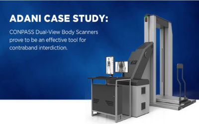 CONPASS Dual-View Body Scanners prove to be an effective tool for contraband interdiction