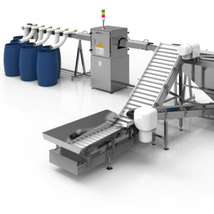 Batteray X-RAY SYSTEM FOR SORTING OF PORTABLE WASTE BATTERIES & ACCUMULATORS